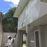 Large Residential House Washing During
