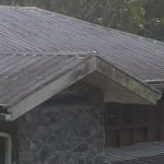 Large Residential Roof Cleaning Before
